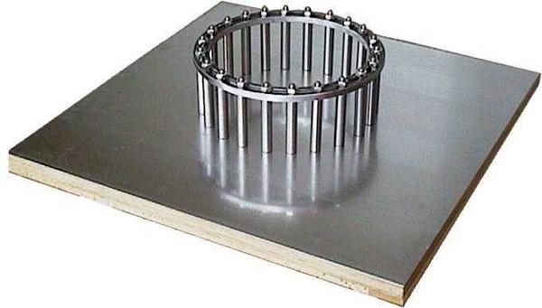 konsistenzmessung an selbstverdichtendem beton svb form test. Black Bedroom Furniture Sets. Home Design Ideas