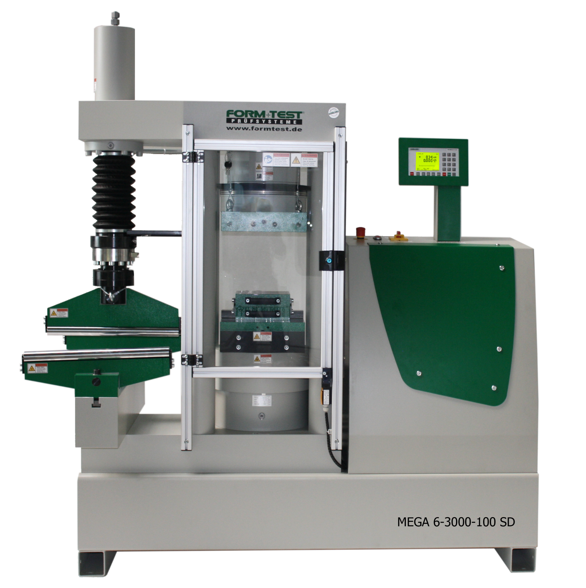Compression and Bending/Flexure Testing Machine Type MEGA 6